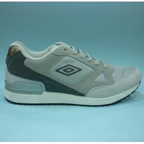 Zapatos Umbro Originales Para Hombres - Um-16522m - Lt.grey