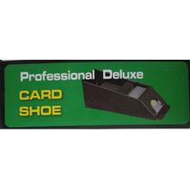 Sabot Repartidor De Naipes Cartas 6 Mazos Card Shoe Negro