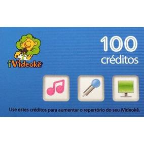 Cartão Ivideoke 100 Cr - Créditos - Cartão Videoke 100 Credi