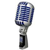 Micrófono Clásico Vocal Shure Super55
