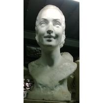 Evita Y Juan Perón, Bustos 60cm (copias De Museo Evita)