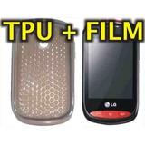 Funda Silicona Tpu + Film Protector Lg T310 - Nnv