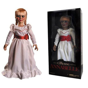 Boneca Annabelle Replica 1/1 Mezco 2017 46 Cm Filme