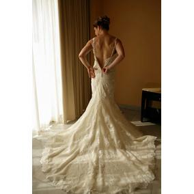 Lindíssimo Vestido De Noiva Espanhol Rosa Clará