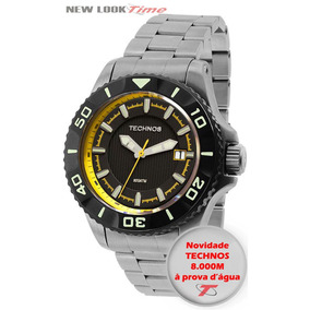 Relógio Technos Acqua Automático 8215ah/5p *8000m