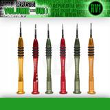 Set Torx T2 / T3 / T4 / T5 / T6 +1.5 - Baku Bk-3332