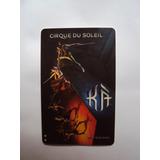 Tarjeta Magnética Cirque Du Soleil Grand Hotel Mgm Las Vegas
