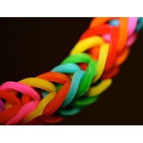 Loom Bands Set 600 Gomitas Colores Telar Aguja Pulseras