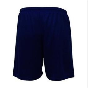 Kit C/3 Short Calção Futebol Em Poliéster - S/bolso