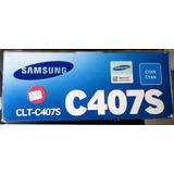 Toner Original Samsung Clt-c407s C407s Magenta Iva Incluido