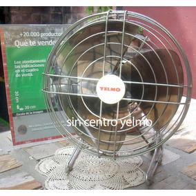 Retro Ventilador Yelmo Personal Impecable Funcionando (6581)