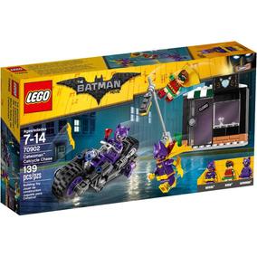 Lego 70902 Batman Perseguição De Moto Da Mulher Gato 139pcs