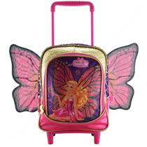 Mochilete Pequena Barbie Butterfly E A Princesa Fairy Roxo S