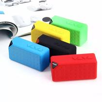 Caixa De Som Bluetooth Mini Speaker X3 Usb Fm Aux Tf