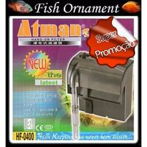 Filtro Externo Atman Hf 0400 Hf 400 - 110v - Fish Ornament