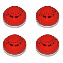 Sensores De Fumaça Fotoelétricos Samtek Stk 903 Kit Com 04