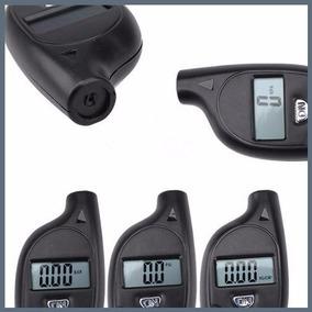 Mini Calibrador Chaveiro Medidor Pressão Digital Carro Moto