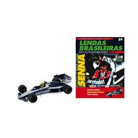 Lendas Automobilismo Edição 29 Ayrton Senna Brabham Lacrado