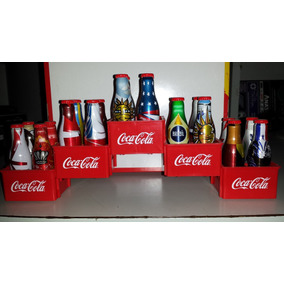 Coleção Completa Mini Garrafinhas Coca-cola Copa 2014