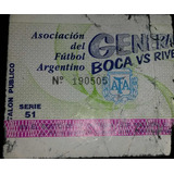 Entrada Boca 0 River Campeón 2 Clausura 1994