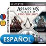 Assassin´s Creed Ezio Trilogy Ps3 Disco Fisico Sellados Ps3