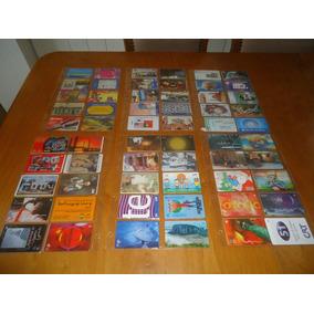 Cartões Telefonicos Diversos Lote 117 Com 6 Plasticos