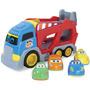 Caminhão Cegonha Com Carrinho Baby Cargo Brinquedo Infantil
