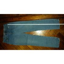 Jean Fus Usa Denim Azul Talle 32 ( Cintura 41cm Largo 113cm)
