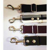 Cinturon De Seguridad Para Perros Mascotas Correa 50cm Azul
