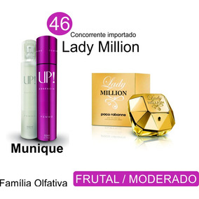 Perfume Lady Million 50ml Munique Up Essência