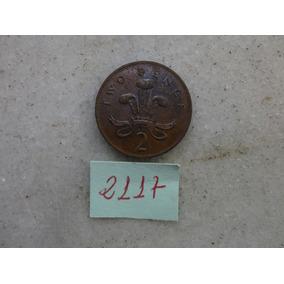 M - 2117 - Moeda Inglaterra 2 New Pence!!!