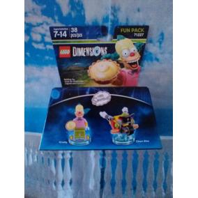 Krusty El Payaso Y Bicicleta Lego Dimensions Los Simpsons