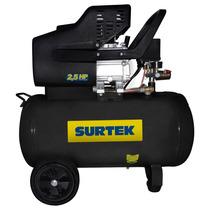 Surtek Compresor Lubricado De Aire 50lt 2.5 Mod:comp550a
