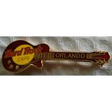 Pins Hard Rock Cafe Orlando Bordo Retro Estrella Metal Rdf1