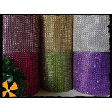 Galon Falso Strass Para Tortas Costura Y Decoraciones Xrollo