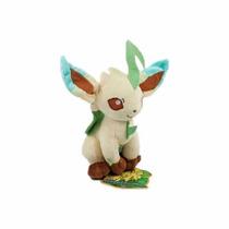 Pokemon Boneco Pelúcia Leafeon Evolução Grama Do Eevee