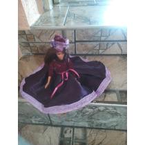 Vestido Da Barbie Modelo Portuguesa Anos 70