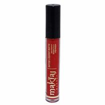 Batom Liquido Fosco Ultra Matte Makiaj 4ml - Vermelho