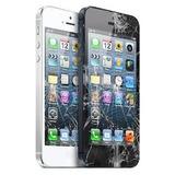 Cambio De Vidrio Iphone 5c / 5g / 5s Con Gel Uv En El Dia!!