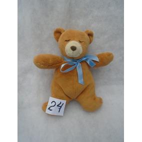 Urso Dormindo Marrom 20x18