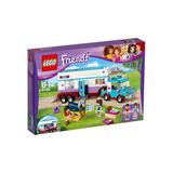 Lego Friends 41125 Remolque Veterinario De Caballos Educando