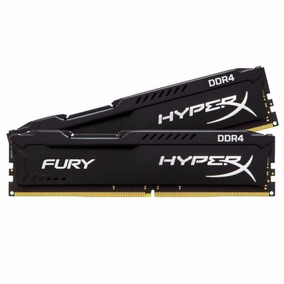 Memória Kingston Hyperx Fury 8gb Ddr4 Gamer