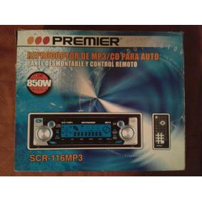 Radio Reproductor Mp3 Premier Original + Control Oferta