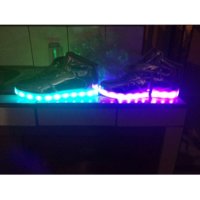 Zapatillas Luces Led Para Mujer Talla 38 Horma Chica