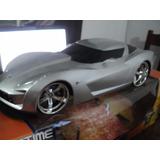 Carro Controle Remoto R/c Corvette Big Time Jada 6v