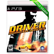 Driver - San Francisco - Ps3 - Usado - Mídia Física