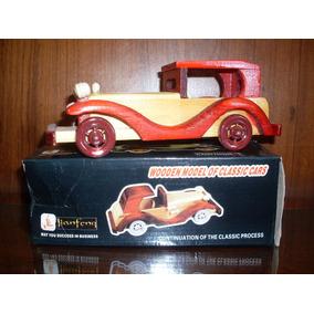 Carrinho Carro Mini Rolls Roice Madeira 18x7x7 Ler Anuncio O