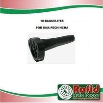 10 Baquelite Bomba Flange Combustivel Fusca Kombi Brasilia