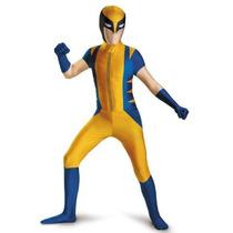 Disfraz Wolverine Niño Version De Lujo Talla (10/12)