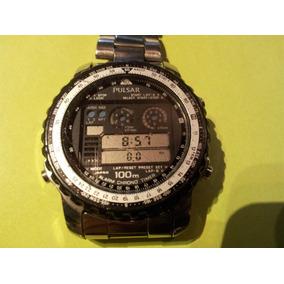 Reloj De Pulsera Pulsar Alarm Chrono Timer